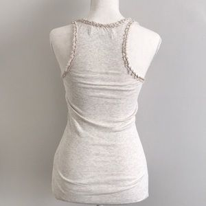 Abercrombie & Fitch Tops - [Abercrombie & Fitch] Ruffle Trim Tank